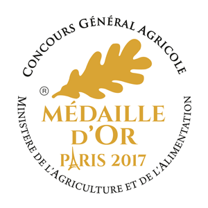 Médaille d'or 2017 - Concours général agricole