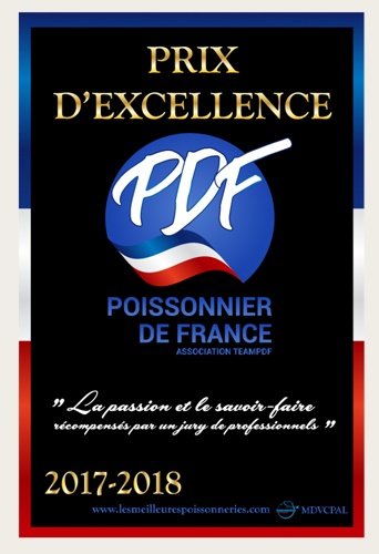 Prix d'excellence 2017 - Poissonnier de France
