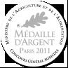 Médaille d'argent 2011 - Concours général agricole