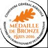Médaille de bronze 2016 - Concours général agricole