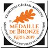 Médaille de bronze 2019 - Concours général agricole