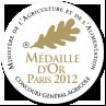 Médaille d'OR 2012 - Concours général agricole