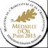 Médaille d'OR 2013 - Concours général agricole