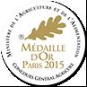 Médaille d'OR 2015 - Concours général agricole